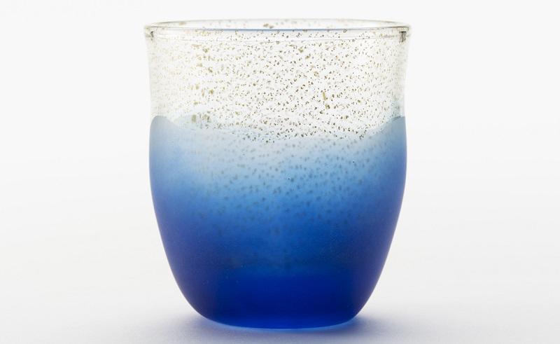 青×金グラス (グラス)